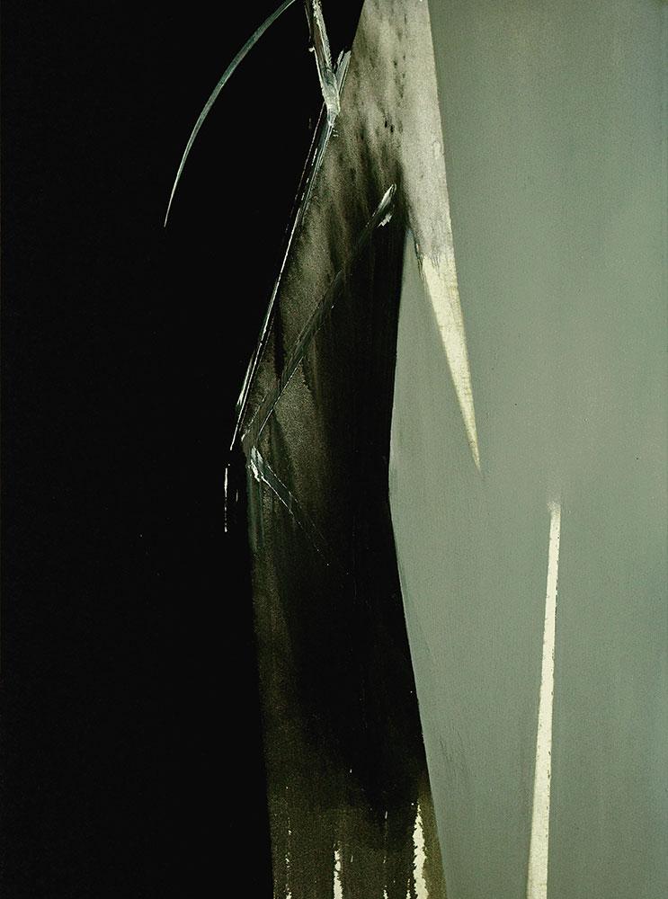 Ros Blasco Double regard 2013 huile sur toile 200x150 cm